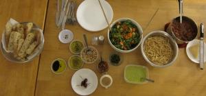 Pasta and Salad Dinner